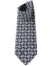 Valentino Vintage Floral Foulard Tie - Lyst