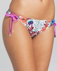 MINKPINK   Secret Garden Side Tie Bikini Bottom   Lyst