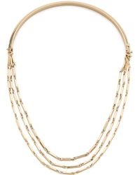 Eddie Borgo - Peaked Chain Necklace - Gold - Lyst