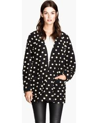 H&M Spotted Jacket - Lyst
