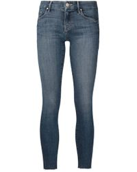 Mother The Looker Jeans blue - Lyst