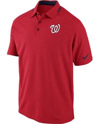 Nike Men'S Short-Sleeve Washington Nationals Ac Dri-Fit Polo - Lyst