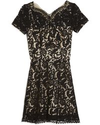 Lover | French Lace Minidress | Lyst