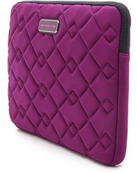 Marc By Marc Jacobs Crosby 13 Computer Case - Black - Lyst