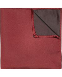 River Island Red Pocket Square - Lyst