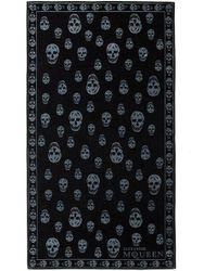 Alexander McQueen - Skull Towel - Lyst