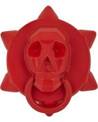 Ambush - Skull Ring-Red Size Medium - Lyst