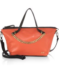 Halston Heritage East/West Chain Satchel - Lyst