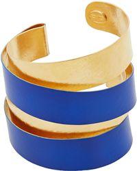 Herve Van Der Straeten - Blue Wrap Cuff - Lyst