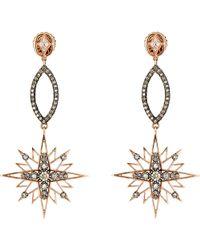 Sara Weinstock - Starburst Chandelier Drop Earrings - Lyst