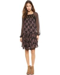 Free People Elsie Dress Magnolia Combo - Lyst