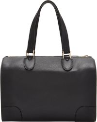 Valextra Boston Bag - Lyst