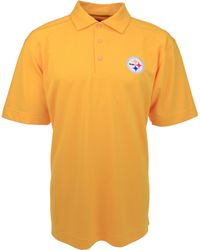 Cutter & Buck - Men's Short-sleeve Pittsburgh Steelers Polo - Lyst
