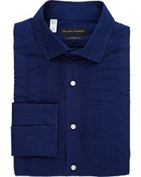 Ralph Lauren Black Label Sloan Tuxedo Shirt - Lyst