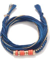 Aurelie Bidermann Takayamas Wrap Bracelet multicolor - Lyst