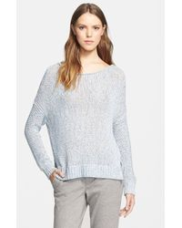 Vince Drop Shoulder Sweater - Lyst