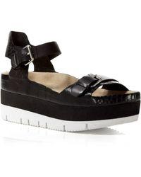 Ash Platform Lug Sole Sandals - Vera Flatform - Lyst