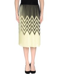 Pinko 3/4 Length Skirt - Lyst