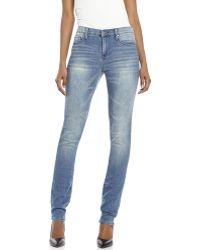 DKNY Light Wash Soho Classic Skinny Jeans - Lyst