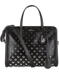 Alexander McQueen Small Studded Padlock Bag - Lyst