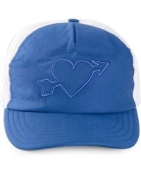 AMI Embroidered Heart Cap - Lyst