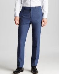 Theory Marlo Tovore Trousers - Slim Fit - Lyst