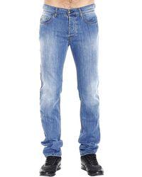 Fay 11 Oz 19Cm Bottom Stretch Regular Used Denim Jeans - Lyst