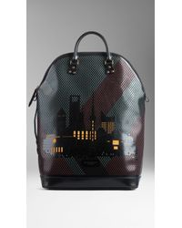Burberry The St Ives with City Motif - Lyst