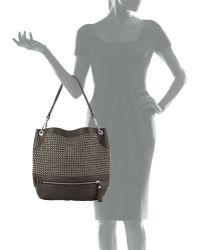 orYANY - Faye Chain Weave Hobo Bag - Lyst