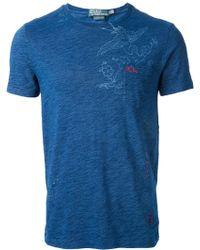 Ralph Lauren Blue Label - Embroidered Tshirt - Lyst