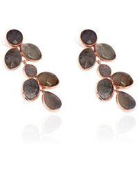 Toosis Labradorite Drops Of Joy Earrings - Lyst