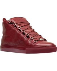 Balenciaga Arena High Sneakers - Lyst