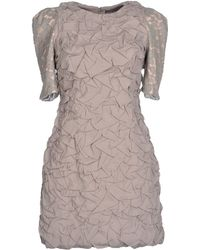 Camilla & Marc Short Dress gray - Lyst