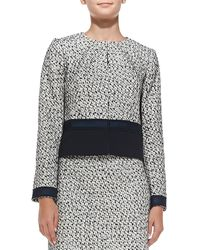 Tory Burch Lucille Silk-blend Tweed Jacket - Lyst