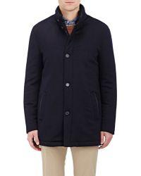 Enrico Mandelli - Fur-lined Cashmere Fleece Parka - Lyst