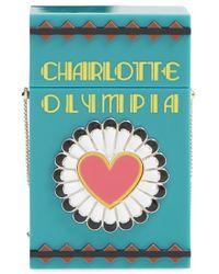 "Charlotte Olympia 'Smokin"" Box Clutch - Lyst"