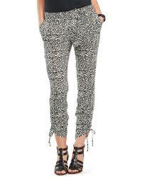Ralph Lauren - Lauren Abstract Print Skinny Pants - Lyst