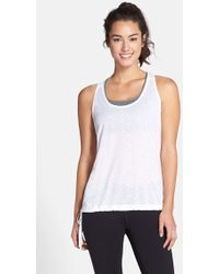The North Face Women'S 'Eat My Dust' Mesh Racerback Tank - Lyst