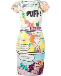 Moschino Cheap & Chic Cartoon Print Dress - Lyst