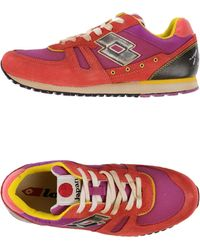 Lotto Leggenda Low-Tops & Trainers red - Lyst