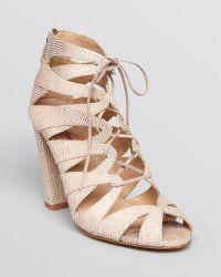 Delman - Darci Sandals - High Heel - Lyst