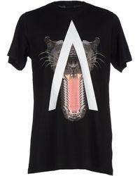 Marcelo Burlon | black T-shirt | Lyst