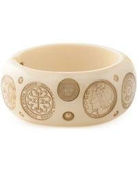 Chanel Cambon Coin Bangle - Lyst