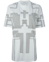 Givenchy Geometric Print T-Shirt - Lyst