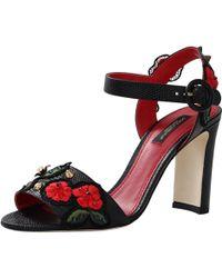 Dolce & Gabbana High-Heeled Sandal - Lyst