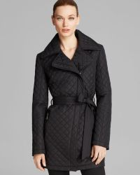DKNY Coat - Quinn Asymmetrical Belted Trench - Lyst