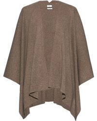 Vince   Cashmere-knit Draped Poncho   Lyst