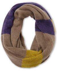 Nine West - Sequined Color Block Infinity Scarf - Lyst