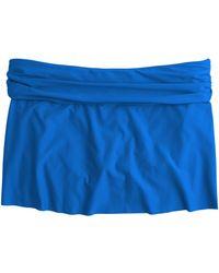 J.Crew Cinched Beach Skirt - Lyst