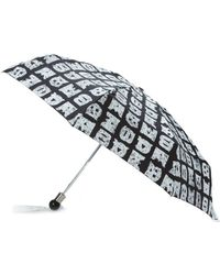 Marc By Marc Jacobs - 'stacked Logo' Umbrella - Lyst